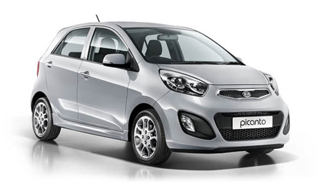 thrifty location voiture guadeloupe Kia Picanto